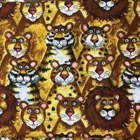 Tela de patchwork animales...